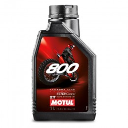 Aceite mezcla 2T 1L Motul 800 Offroad