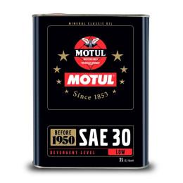 Óleo Transmissão 2T/4T SAE30 2L Motul Classic Mineral