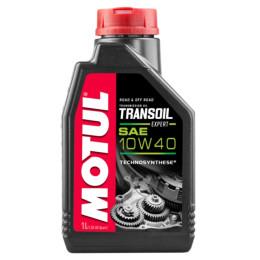 Óleo de transmissão Motul Transoil Expert SAE 10W-40, ideal 2T y 4T, bote de 1 litro
