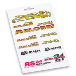 Kit pegatinas Malossi 13,3x23,3cm