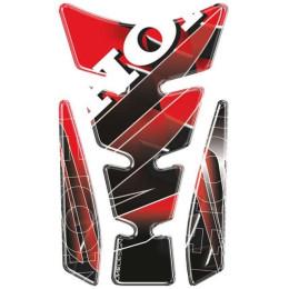 Protector de depósito Wing Logo Honda Vermelho PUIG