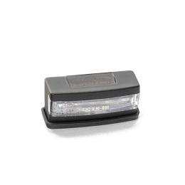 Luz de matrícula LED Puig PLA cobertura em Preto homologado