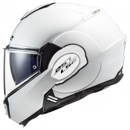 Casco Modular LS2 FF399 Valiant Single Mono Blanco