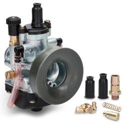 Carburador 19mm tipo PHBG Allpro com cabo/alavanca starter