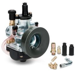 Carburador 21mm tipo PHBG com starter cabo/alavanca Allpro