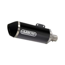 Silenciador Alumínio Preto Urban Arrow Honda PCX 125 18-19