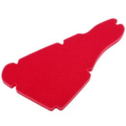 Esponja de filtro de ar Artein, Piaggio Airbox grande, (Runner / Stalker/ NRG Extreme)l, rojo