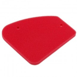 Filtro de ar Motoforce Peugeot vertical, rojo