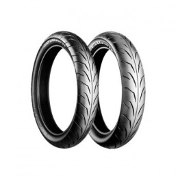 Jogo de pneus Bridgestone Battlax (kit) Carretera, incluye 100/80-17 y 120/80-17