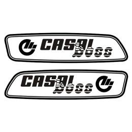 Kit pegatinas CASAL BOSS Transparente y negro