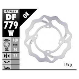 Disco de freno delantero KTM SX 50 06-20 / Trasero KTM SX 50 14-20 Wave Galfer