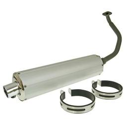 Escape motor GY6 125/150cc Aluminio