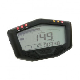 Cuadro Instrumentos KOSO DB02 (RACE),  speed, odo, trip, rpm hasta 20.000, temp, iluminado blanco 188.7x66.1mm, 22.7-26.8mm