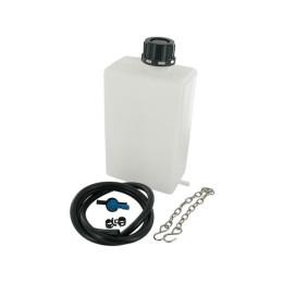 Depósito gasolina 1.5L de plástico, incluye tubo y  grifo gasolina Motoforce RACING, 1,5 L