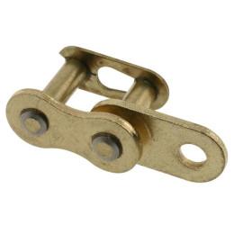 Elo engate rápido dourado, corrente 428 (1/2x5/16) )(99420CL)