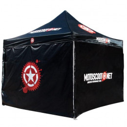 Carpa Motoscoot 3x3m, estructura de aluminio alta resistencia, incluye bolsa