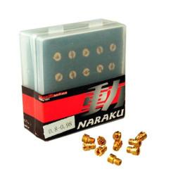 Giglers de altas (set) NARAKU, M4 80-98 (10 unidades)