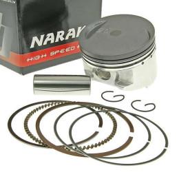 Pistón kit Naraku Ø58,5/160cc 4T, para cilindro 160cc Naraku, para Kymco Agility, Like, Heroism, Super 8 125cc y GY6125cc AC
