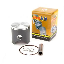 Pistón Vertex (3742A), 1 sg, b.12mm, 47,545mm, Piaggio - Polini Evo 12mm, Manston (Ref. 3742A)