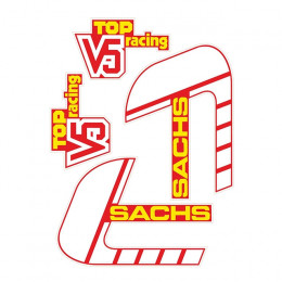 Kit pegatinas V5 TOP RACING