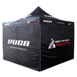 Tenda VOCA Racing, 3x3m, estrutura alumínio primeira qualidade, com bolsa