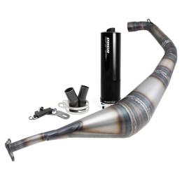 Escape Minarelli AM6 Warrior 50/70cc VOCA silenciador preto