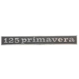 Anagrama trasero aluminio Vespa 125 Primavera Vespa Due