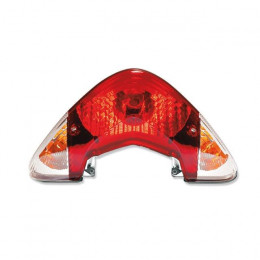 Tulipa trasera tipo original (rojo + intermitentes), Yamaha Jog R/RR
