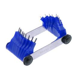 Calibrador de Chiclés (galgas) Buzzetti, 0.45-1.50 mm
