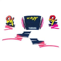 Kit Autocolantes Yamaha DT 50 LC Azul