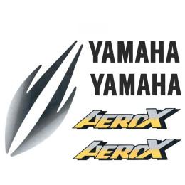 Kit Autocolantes Yamaha Aerox Amarelo