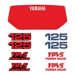 Kit autocolantes Yamaha 125 YPVS