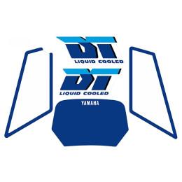 Kit pegatinas Yamaha DT Liquid Cooled Azul