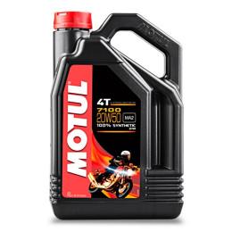 Motor Oil 4T 20W50 4L Motul 7100