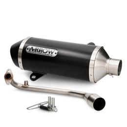 Complete Racing Exhaust Honda SHi 125/150 >20 Dark Urban Aluminium Arrow