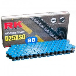 Drive Chain RK 525XSO BB with 118 links Blue