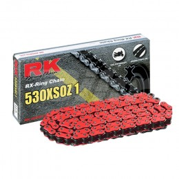 Drive Chain RK 530XSOZ1 114 links Fluorescent Red