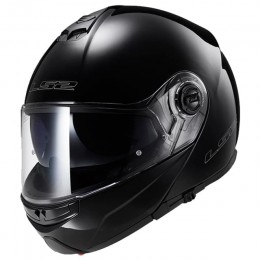 Helmet Modular LS2 FF325 STROBE Black gloss