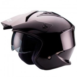Helmet Trial Unik CT-07 with visor Black