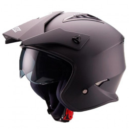 Helmet Trial Unik CT-07 with visor Matte Black