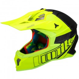 Helmet Cross Unik CFX-18 Sparx Fluorescent Yellow/ Mate Black