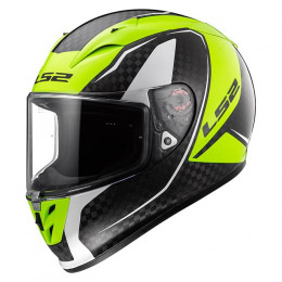 Helmet Full Face LS2 FF323 Arrow H-Vis Yellow - Fury Carbon