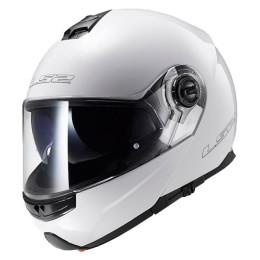 Helmet Modular LS2 FF325 STROBE - White/gloss