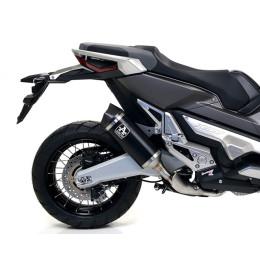 Exhaust Silencer Race-Tech Black Arrow Honda X-Adv 750 17-19