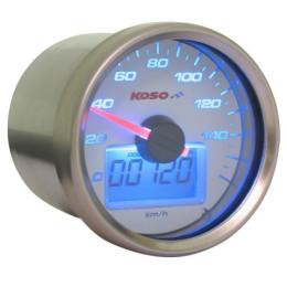 Speedometer KOSO GP Style d=55 max 160km/h - White background