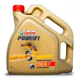 Engine Oil 4T 15W50 4L Castrol Power 1