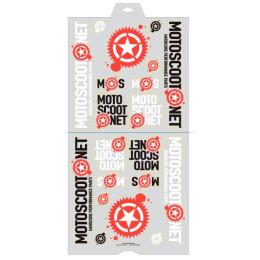 Sticker Set Motoscoot 20 stickers