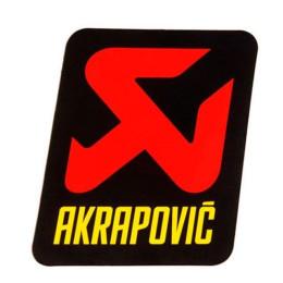 Sticker heat resistant Akrapovic 70x75mm vertical