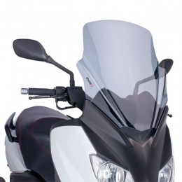 Screen V-Tech Line Touring Yamaha X-Max 125/250cc 2010-2013 smoked Puig