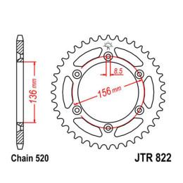 Sprocket Husaberg SMS 2000-2012 Z-49 520 JT Sprockets
